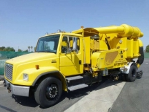 1998 Vacuum Tank Freightliner Fl80 Vactor Glycol Recovery Truck