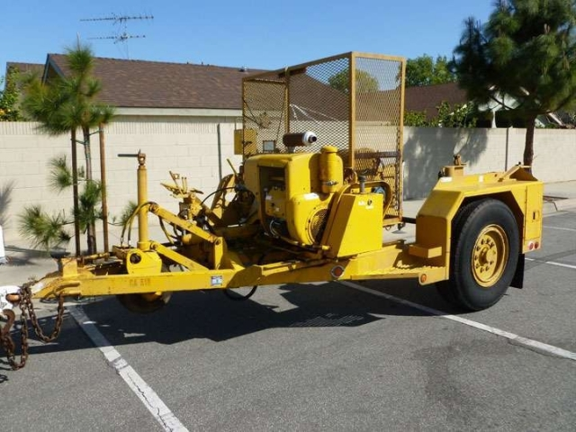 1982 Other Other H135 Cable Puller Reel Trailer