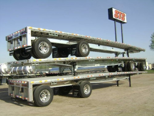 USED 2016 MANAC FLATBED FLAT BED