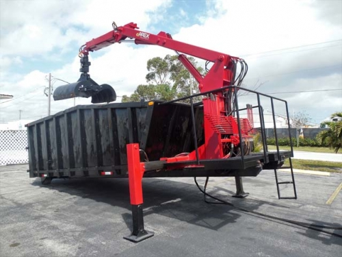 USED 2011 X ROLL OFF PETERSON GRAPPLE LOADER ROLL OFF CONTAINER