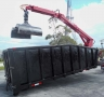 USED 2011 X ROLL OFF PETERSON GRAPPLE LOADER ROLL OFF CONTAINER2