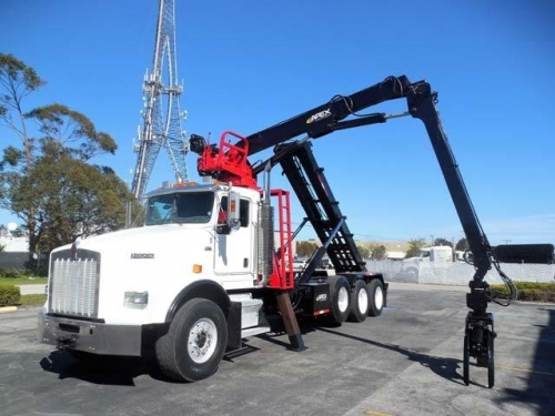 USED 2005 KENWORTH ROLL-OFF T800 GRAPPLE ROLL OFF