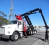 USED 2005 KENWORTH ROLL-OFF T800 GRAPPLE ROLL OFF1