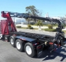 USED 2005 KENWORTH ROLL-OFF T800 GRAPPLE ROLL OFF2