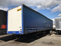 2000 Flatbed Other 48' Curtain Van
