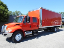 2008 Box / Cargo / Van / Truck International 4300 Crew Cab